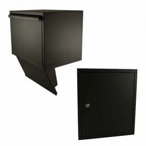 Stoer! pakket inbouwkast + deurdeel, zwart